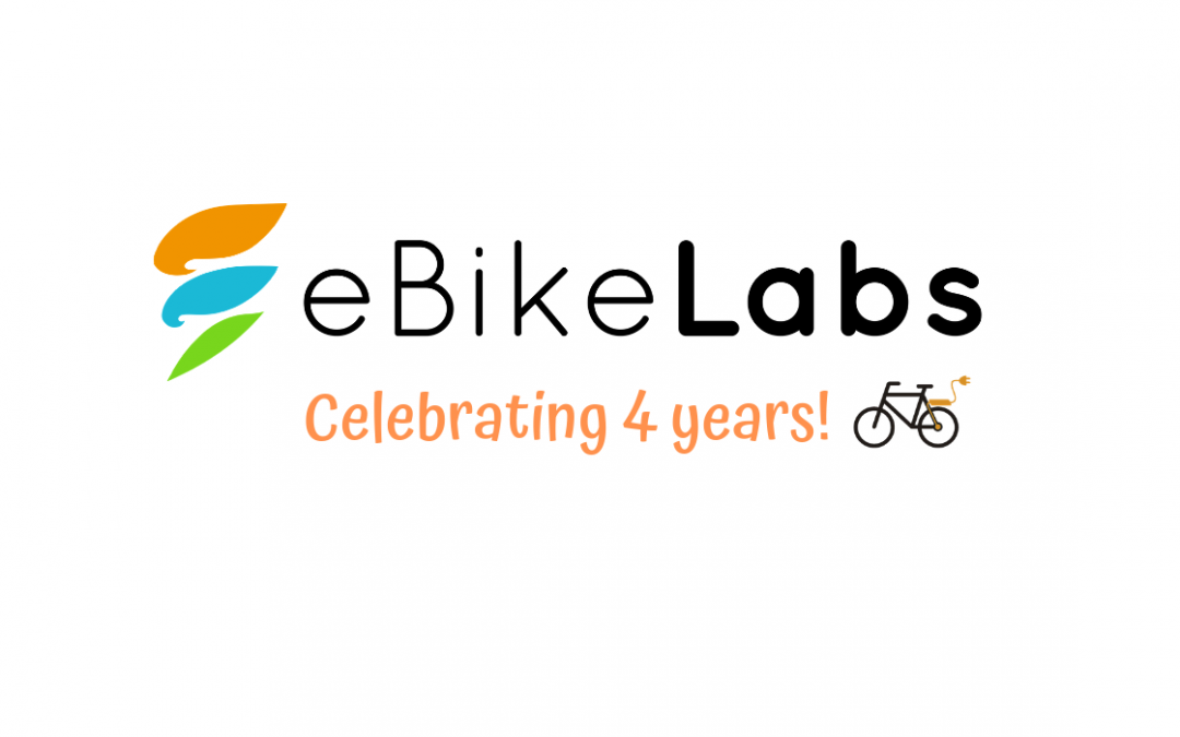 Celebrating 4 years of eBikeLabs !