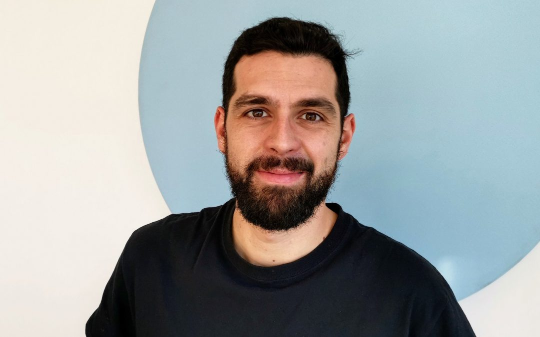 Meet the newest member of our team Arnaud Groby