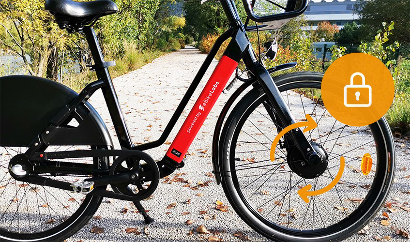 e-bike sharing security anti theft