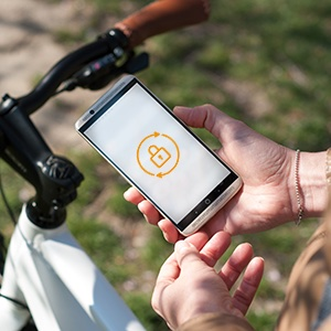 eBikeLock, the electronic lock for e-bikes